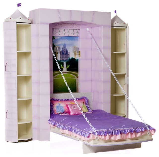 Princess castle bed eclectic kids beds vancouver for Beds vancouver