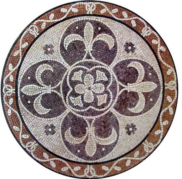 Lili Mosaic Tile In Kitchen