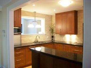 ikea kitchens grimslov medium brown