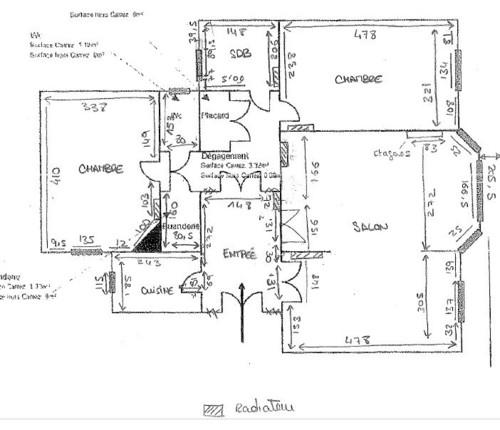 Comment repenser l 39 entr e d 39 un appartement ancien - Comment decorer un salon salle a manger ...