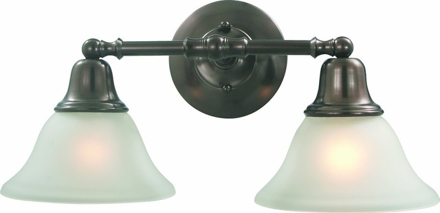 "Two Light Sonoma 18"" Vanity Fixture, Oil Rubbed Bronze"