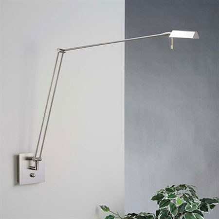 Wall Lamp With Extending Arm : Bernie Extended Swing Arm Wall Sconce - Modern - Swing Arm Wall Lamps