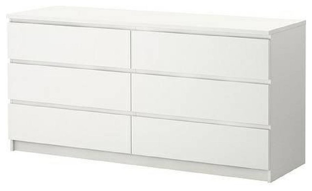 Ikea 6 Drawer Dresser Dressers New York By AptDeco