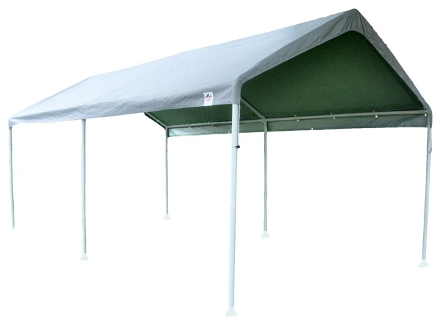 10'x20' True Shelter 6 Leg Canopy - Traditional - Canopies Tents And Awnings
