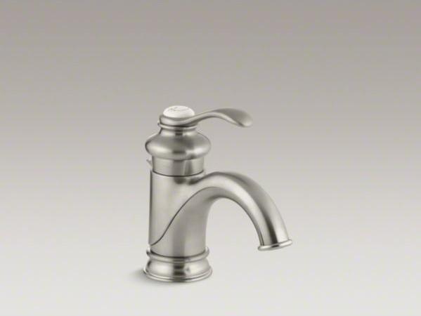 Kohler Fairfax Faucet : KOHLER Fairfax(R) single-hole bathroom sink faucet with single lever ...