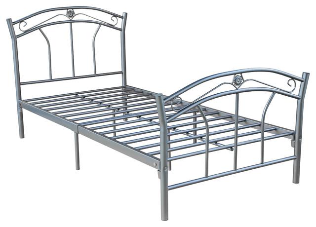 Modern Metal Bed : ... Baby & Kids / Kids Furniture / Kids Beds & Bedroom Sets...
