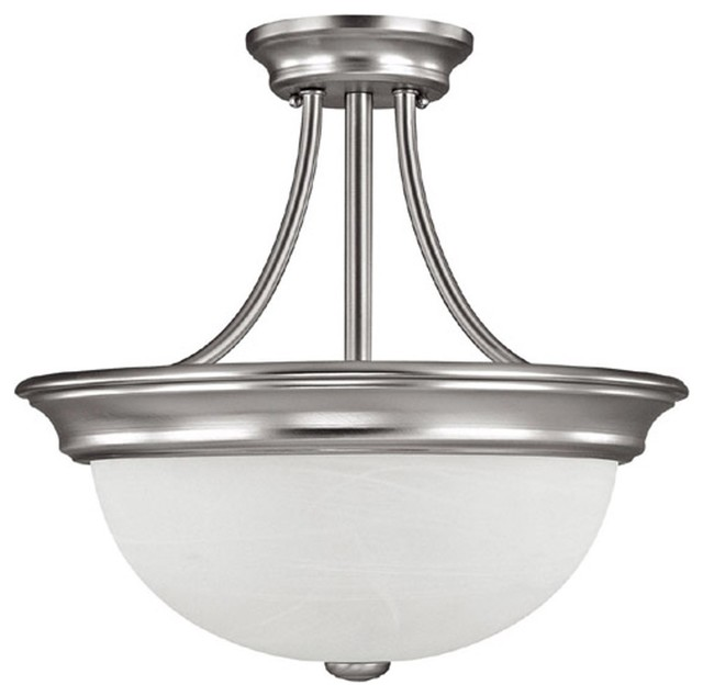 Capital lighting 13w energy efficient transitional semi for Plafones clasicos
