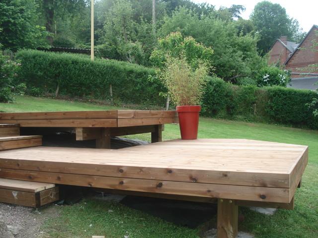 terrasse grad tendance nature et bois terrasses patios et vérandas