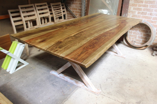 Australian Made Wooden Furniture Rustic Modern Beach Style Dining Tables Sydney By