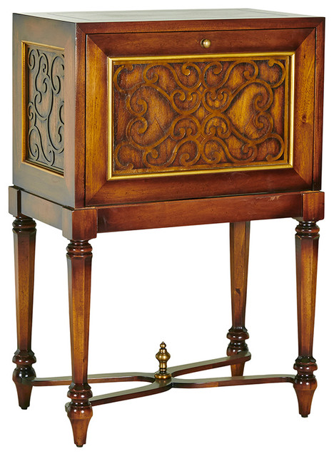Lawrence Drinks Cabinet - Traditional - Buffets And ...