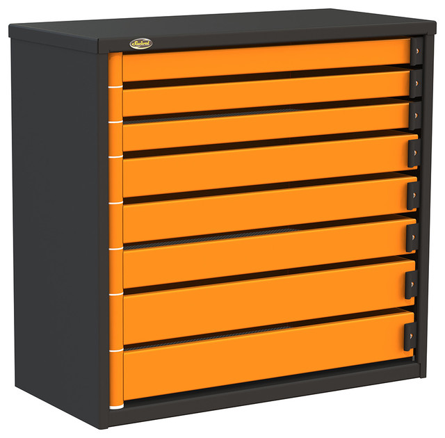 """Swivel PRO363408 8-Drawer 36"""" Service Tool Box - Contemporary - Garage And Tool Storage - by ..."""
