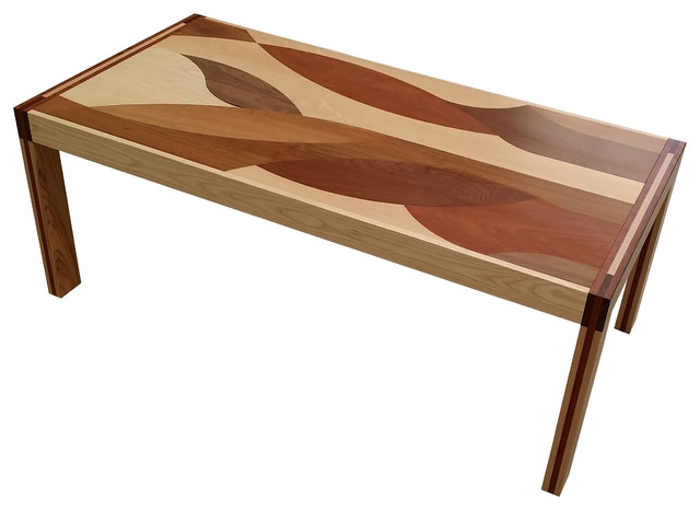 Janet Extensible Table Transitional Coffee Tables Other Metro By Juan Z Iga Designer