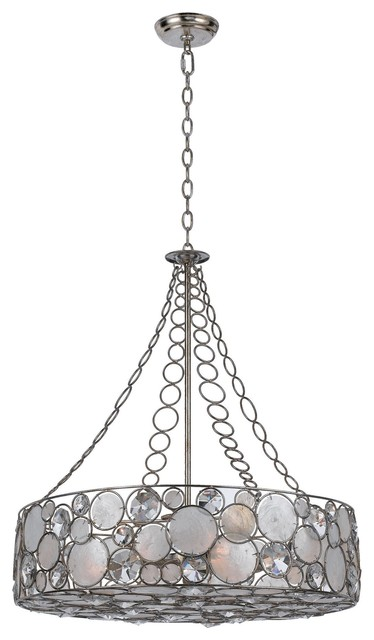 Crystorama 528 sa palla chandelier contemporary for Window palla design