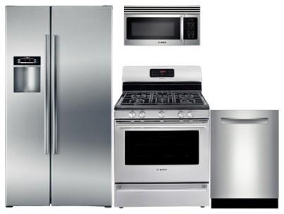 "B22CS30SNS 36"" Counter-Depth Side-by-Side Refrigerator 4 ..."