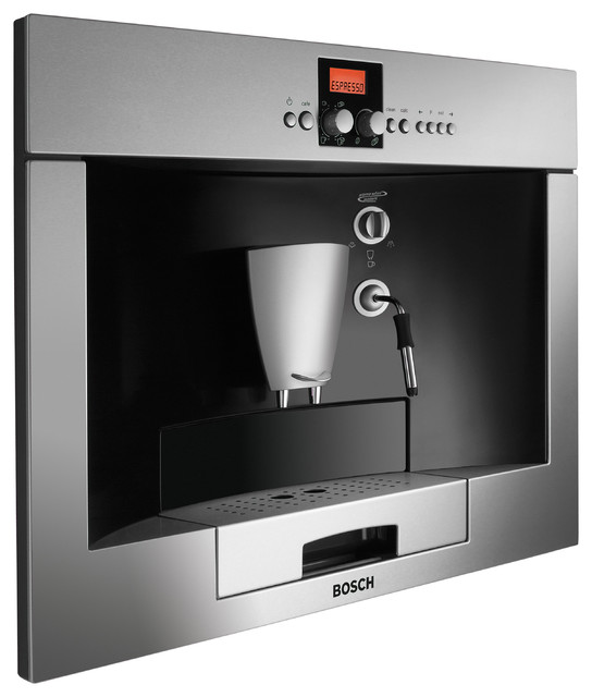 bosch built in coffee machine stainless steel. Black Bedroom Furniture Sets. Home Design Ideas
