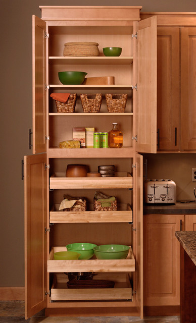 Tall Pantry Cabinet Modern By Cliqstudios Cabinets