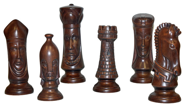 Extra Large 6 Piece Chess Set Brandywine Traditional