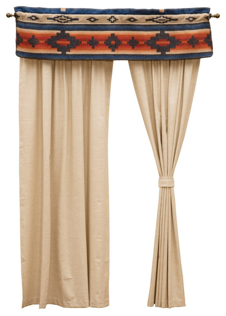 redrock drape panel southwestern curtains by