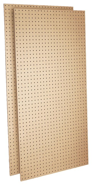 Triton TPB-2 Two Tempered Hardboard Pegboard - Traditional - Bulletin Boards And Chalkboards ...