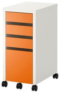 MICKE Drawer unit/drop file storage - Scandinavian - Filing Cabinets - by IKEA