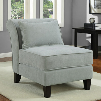 Spa Slipper Chair Contemporary Armchairs And Accent