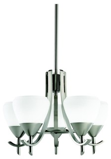 Kichler Lighting 1678AP Olympia Five Light Chandelier Contemporary