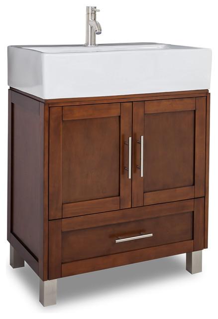 Jeffrey Alexander York Vessel Vanity Traditional Bathroom Vanities And Sink Consoles By