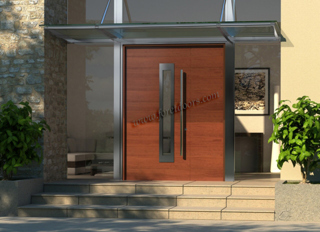 Modern Contemporary Entry Doors Contemporary Front