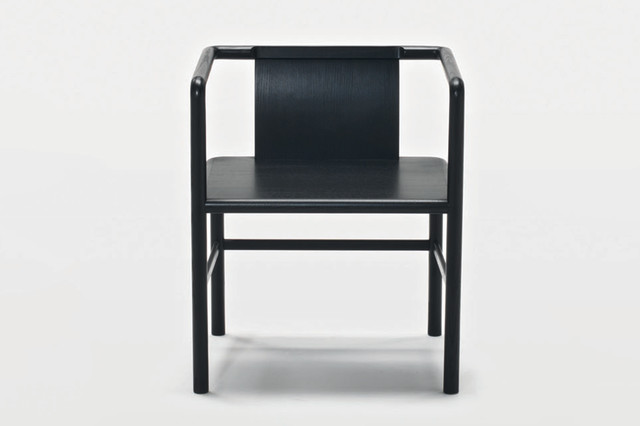 zhu chair with arms modern dining chairs by space