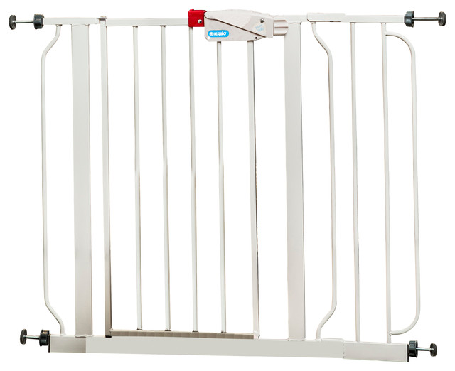Regalo Easy Step Safety Gate Contemporary Baby Gates And Child