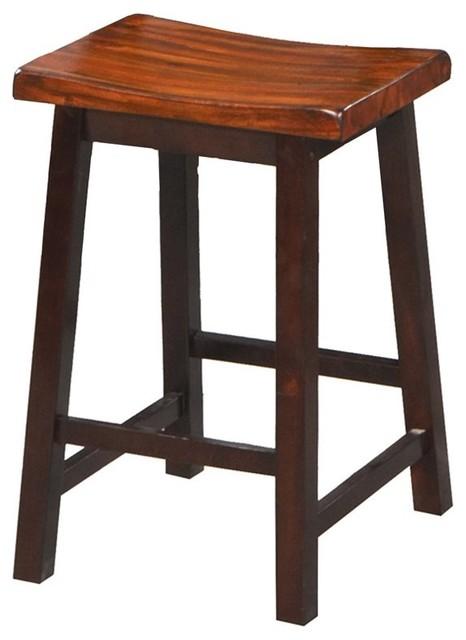 Counter Height Saddle Stools : Counter Height Saddle Bar Stool - Set of 2 - WIN220 contemporary-bar ...