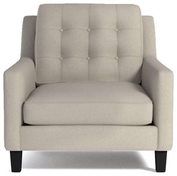 Elysian Chair Woven Beach - Anni '50 - Poltrone e sedie in stile - di Apt2B