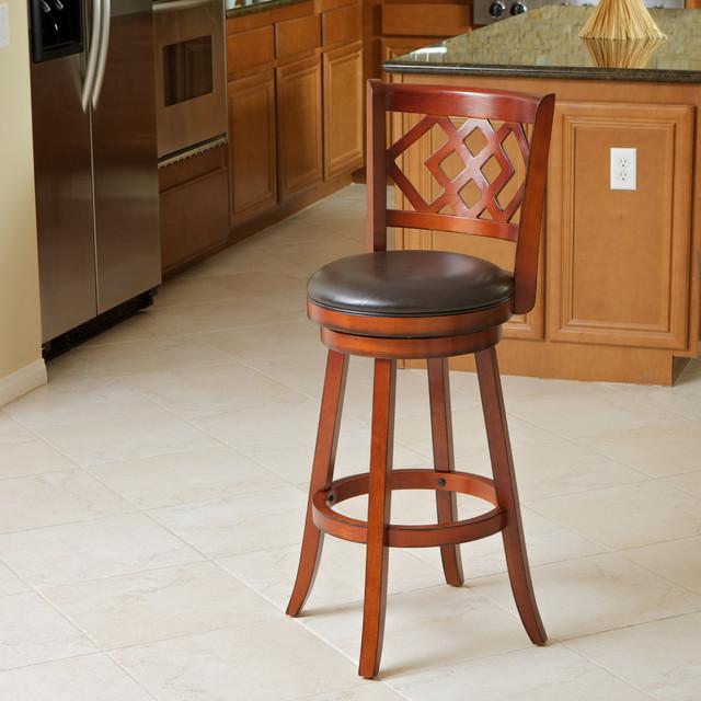 Eclipse Brown Swivel Barstool Contemporary Bar Stools  : contemporary bar stools and counter stools from www.houzz.com.au size 640 x 640 jpeg 98kB