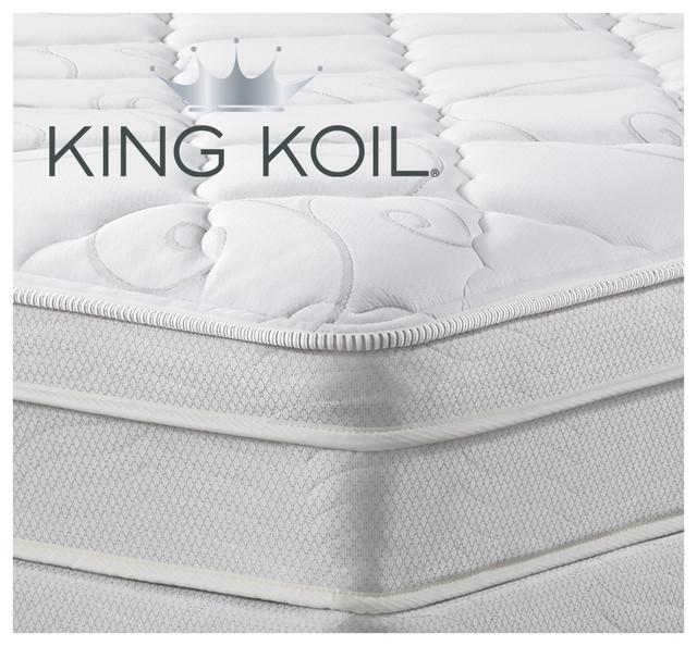 Art Van Puresleep King Koil Queen Mattress Set
