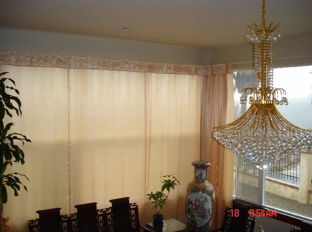 Window Treatments-Bendable Curtain Rod - Transitional - Curtain Rods ...