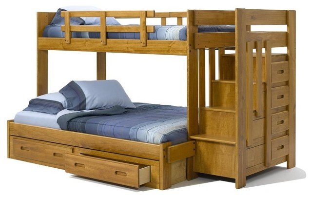 Heartland Twin Stair Bunk Bed