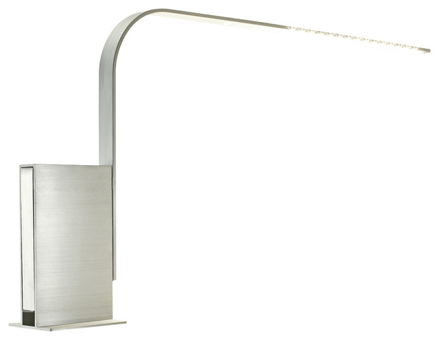 pablo designs lim lamp brushed aluminum table modern aluminum adjustable desk lamp