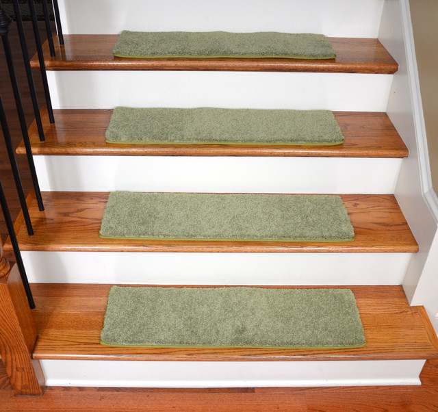 "Diy Stair Treads Out Of Flor Tiles: Dean Non-Slip Pet Friendly DIY Carpet Stair Treads 30""x9"
