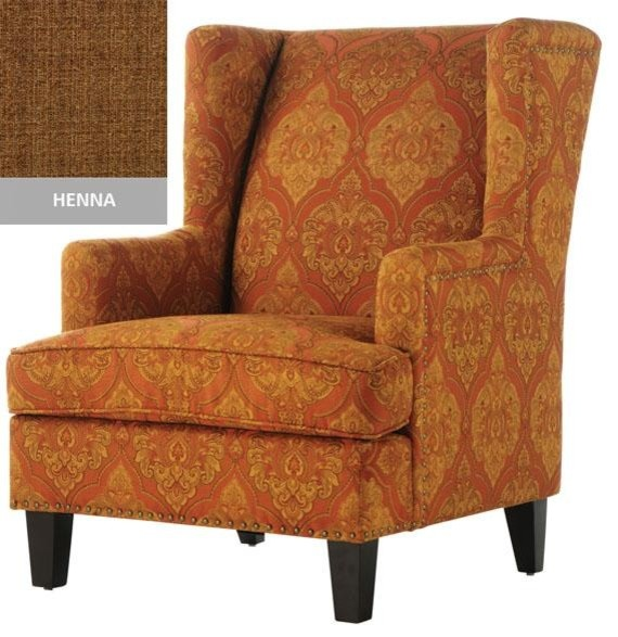 Vincent Wingback Chair Traditional Armchairs And