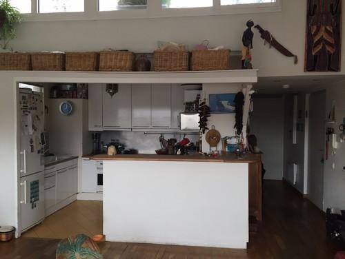Quel couleur de plan de travail pour une cuisine ouverte - Quel carrelage pour plan de travail cuisine ...