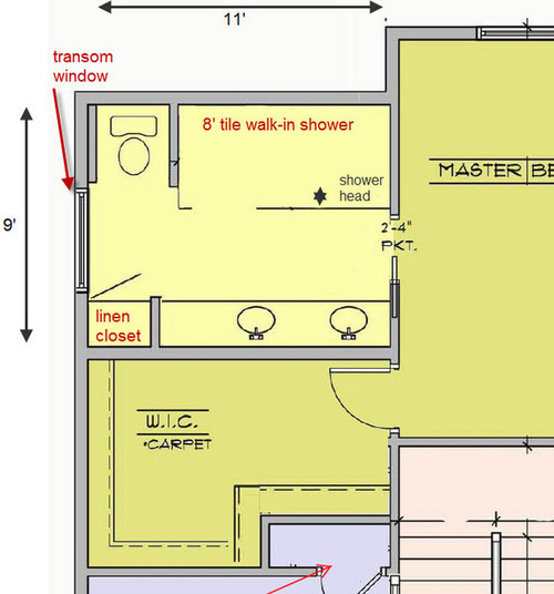 Advice On Master Bath Plan For New Construction Home