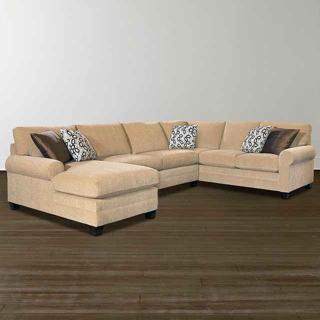 Hgtv Home Cu 2 U Shaped Sectional By Bassett Furniture Sectional Sofas Raleigh By Bassett