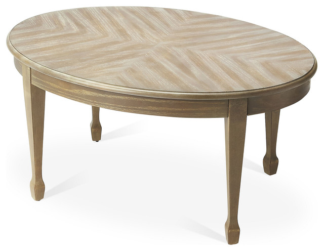 Aulii Oval Coffee Table Contemporary Coffee Tables By One Kings