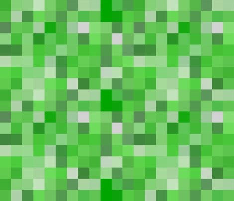 Minecraft Creeper Fabric Eclectic Fabric By Spoonflower