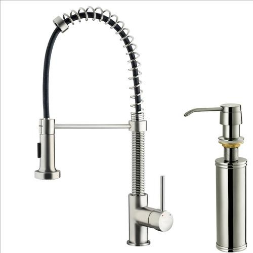vigo vg02001stk2 stainless kitchen faucet traditional brizo 61136lf ss tresa stainless steel kitchen faucet with