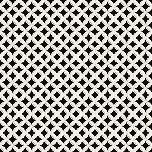 Etoile 24 39 39 x 24 39 39 in blanc noir contemporain - Carrelage cuisine noir et blanc ...