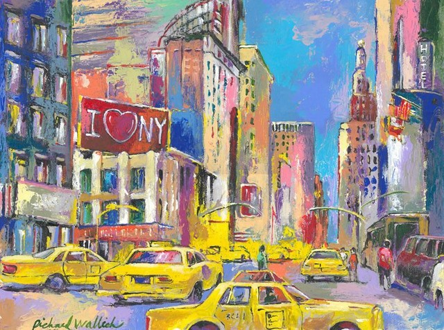 new york taxi wall mural contemporary wallpaper by. Black Bedroom Furniture Sets. Home Design Ideas