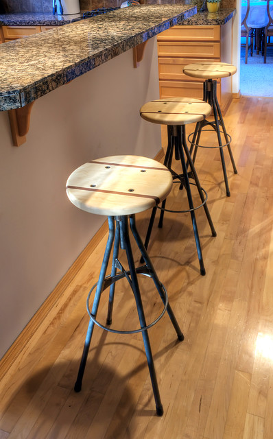 Furniture industrial bar stools and counter stools denver by hueber industries - Barstools denver ...
