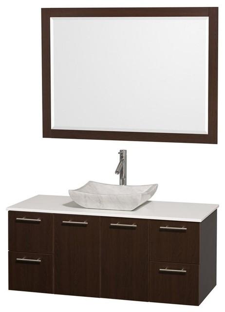 In Modern Wall Mounted Vanity Set Contemporary Bathroom Vanity Uni