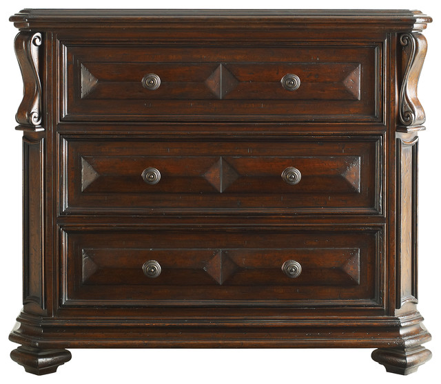 Stanley furniture continental bedroom media chest transitional dressers by seldens furniture for Continental furniture company bedroom